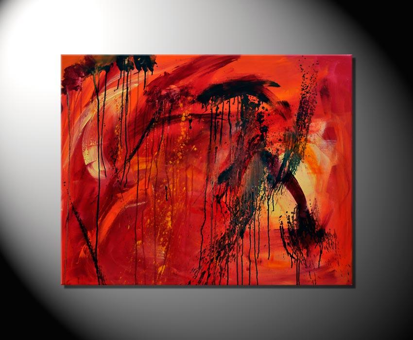 Moderne kunst abstrakte bilder impression fiona ritz ebay for Vorlagen malerei